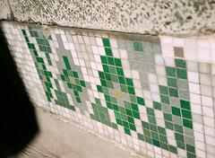 Green and Grey (oh it's amanda) Tags: fujiga645i ga645i mediumformat expiredfilm kodakpro1000pmz shotat200iso london londonengland uk