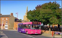UNO 116 (Lotsapix) Tags: uno buses university pink northamptonshire daventry dennis dart plaxton pointer 116 c16uno