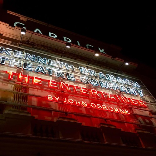 Seeing The Entertainer, starring Kenneth Branagh. #garricktheatre #kennethbranagh #westend #play #london