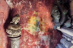 Abandoned Crypt (Urbex Diary) Tags: ue urbex urban exploration lost place abandon decay verfallen verlassen church chapelle red travel europa canon eos 6d 17mm tilt shift lens