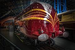 Duchess of Hamilton (pjbranchflower) Tags: train york railway museum national duchess hamilton streamlined