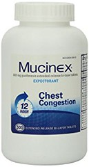 Mucinex 12-Hour Chest Congestion Expectorant Tablets, 500 Count (goodies2get2) Tags: 100to200 amazoncom bestsellers toprated