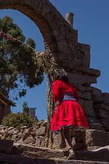 Menina-de-Taquile (Carlos Fabal) Tags: taquile peru incas titicaca retraros portrait