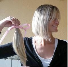 pelo (Kenty Hairfert) Tags: longhair haircut rapunzel thickponytail longtoshort hairstyles makeover blonde brunette hairdonation bald shave ponytail braid hairgoals buzzcut
