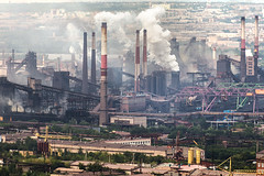 (ilConte) Tags: magnitogorsk mkk mk iron steel russia russian urals industria industrie industry