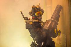 Cybord (Thomas Bosley Photography Leeds) Tags: cyborg robot smoke photography portrait creative