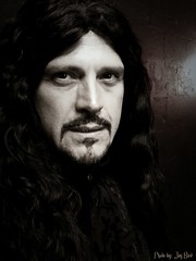 """Vlad """"The Impaler"""" (Jaye Eryk) Tags: dracula vlad halloween vampie bw blackandwhite dark old gothic play show theatre theater production acting actor film"""