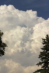 Final Cloud (rumimume) Tags: potd rumimume 2016 niagara ontario canada photo canon 550d t2i sigma cloud billow puffy sky summer outdoor nature