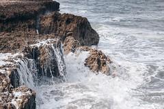 High Tide (zumponer) Tags: beach ocean sea water splash waves rocks hightide canon5dmarkii canon fullframe florida 70mm 70200 canon70200mm movement motionblurr rock