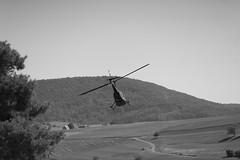 T I M E _ S T O P (wildbam25) Tags: helicopter blackandwhite black white blackwhite schwarz weiss heli aircraft