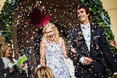 hochzeit-wolfsberg-auszug -aus-kirche (Florian Gunzer) Tags: wedding weddingphotographer hochzeit hochzeitsfotografie bride groom smile love