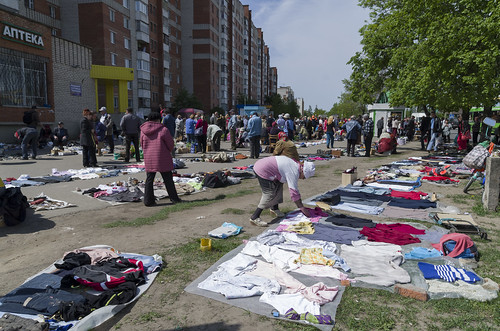 Market on the street, 17.05.2014.