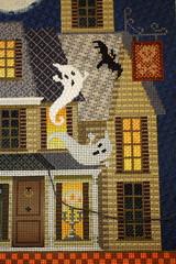 October 23 2016, Sunday (interchangeableparts) Tags: worksinprogress needlepoint kirkbradley halloweenstitching