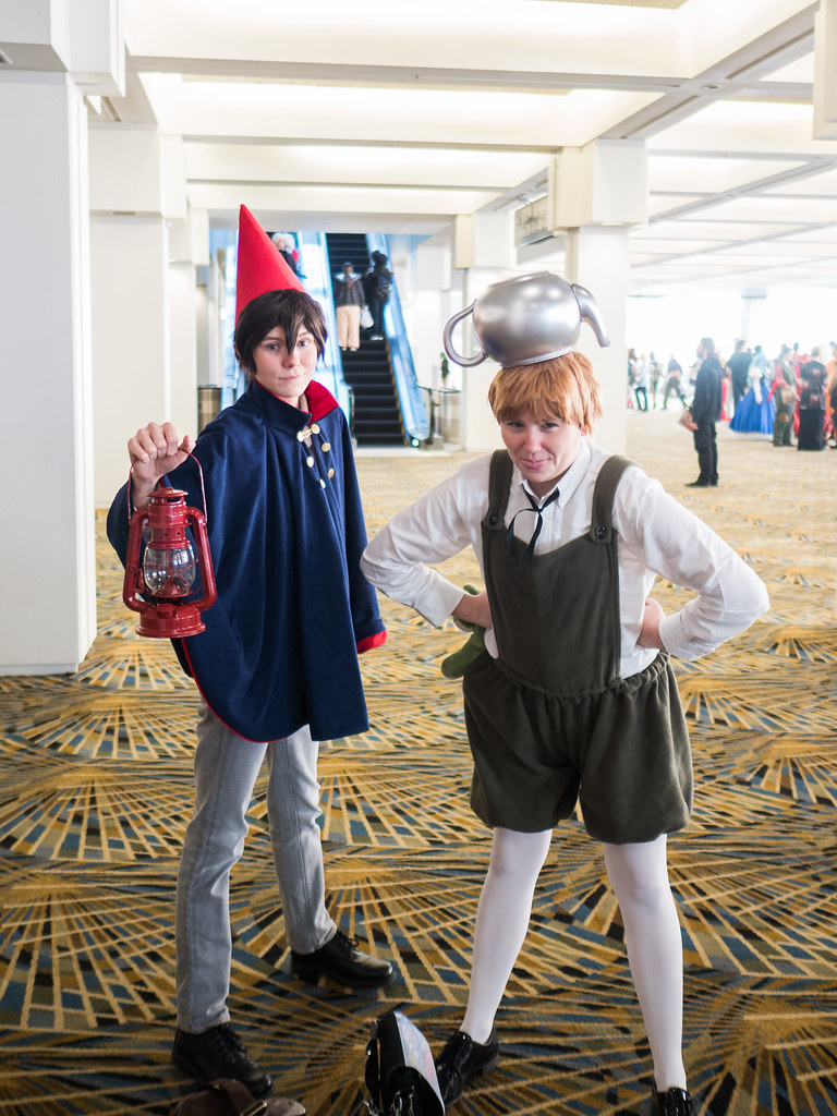over the garden wall wirt and greg indus bird tags cosplay youmacon - Over The Garden Wall Cosplay
