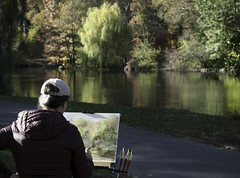 Park Painter (Joe Josephs: 2,861,655 views - thank you) Tags: autumn centralpark cityparks fall fallcolor fallfoliage joejosephsphotography nyc newyork newyorkcity travel travelphotography urbanparks landscape landscapephotography outdoorphotography parks painting art artists urbanlandscapes