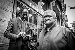 Hopeless (Mustafa Selcuk) Tags: hopeless hope moody moods turkey istanbul 16mm xpro2 fujifilmtr fujifilm bw bnw siyahbeyaz monochrome monochromatic blackandwhite streetphotographer streetphotography street people