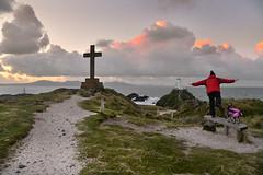 Ynys Llanddwyn (PentlandPirate of the North) Tags: ynys llanddwyn newborough anglesey lighthouse beach fly dog miniatureschnauzer holy cross north wales hurtta
