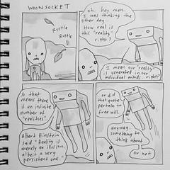 reality (starheadboy) Tags: woonsocket albert einstein alberteinstein comic reality