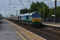 66711 4N44, Northallerton (Leeming Bar TMD) Tags: class66 gbrf gbrailfreight sence 66711 4s05