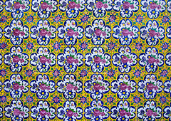 Floral details in agha bozorg mosque, Isfahan province, Kashan, Iran (Eric Lafforgue) Tags: 0people aghabozorg ancient architecture art ceramic colorimage coloured cultural culture decorated decoration history horizontal iran iranianculture kachan kashan middleeast mosaic mosque multicoloured mural nopeople nobody orient ornate outdoors pattern persia persian tile tiled tiles tilework traditional isfahanprovince ir