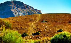 around Teide HDR_0477 (kurbeltreter20) Tags: spain spanien tenerife teneriffa teide vulkan volcano mountain color sky blue