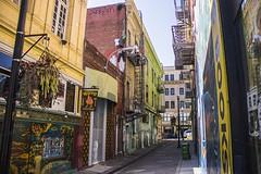 Vesuvio Alley (Dan Baldini) Tags: sf norcal sanfrancisco san francisco northerncalifornia california street alley road bar city life art paint mural