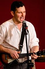 Steve Wharton (24) with uke (allybeag) Tags: florencemine egremont cumbriansongsstories stevewharton music song dance stories poetry entertainment uke ukulele