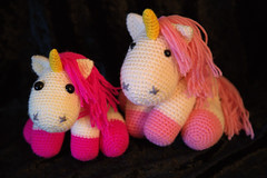 IMG_0938_1 (tinksdarkerside) Tags: project ravelry amigurumi crochet despicable me unicorn agnes