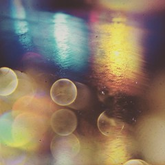 A cocktail of dizzy (BLACK EYED SUZY) Tags: bokeh rain night wet lights blurry lumie mextures picsart