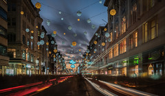 London Lights (Photo Lab by Ross Farnham) Tags: oxford street london light trails sony a7rii 1635mm christmas le lee filters