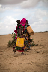 Nimo Abdi Dere, a mother of 1,  resides in Jigjiga, Jila Alu Kebele. She used to travel for eight hours daily to get 2 jerry cans of water (UNICEF Ethiopia) Tags: emergencies jigjiga unicef water drought naturaldisaster wash watersupply waterandsanitation wateraccess