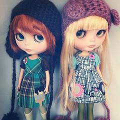 The lucky girls! New buttonarcade dresses!