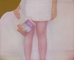 (Leanne Surfleet) Tags: selfportrait colour film polaroid spectra expired mobydick hermanmelville leannesurfleet