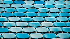 (joyrex) Tags: blue abstract color scotland edinburgh blauw pattern seats schotland kleur stoelen edinborough patroon