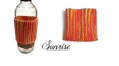 Sunrise (TheBrokenLion) Tags: green cup coffee monster cozy bottle knitting acrylic rockstar handmade hipster knit handknit tequila indie handcrafted knitted energydrink warmer