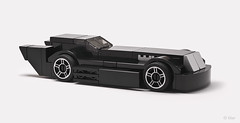 The Animated Series Batmobile (_Tiler) Tags: lego mini batman dccomics batmobile batmantheanimatedseries classicbatmobile legobatmobile legominibatmobile classiclegobatmobile