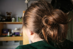 day two hundred and eighty eight (jessi.carrr) Tags: selfportrait self hair year2 365 bun