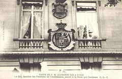 King Alfonso XIII. of Spain visiting Paris / Spain Ambassy (Miss Mertens) Tags: madrid spain infant king princess postcard royal prince queen rey re kaiser regina bourbon espagne reine royalty monarchy spanien cartolina adel infante oldfashioned espagna roi prinz royalfamily knig postkarte principe knigin infanta principessa borbon prinzessin monarchie monarchia kaiserin picturecard koningshuizen casareale familleroyal
