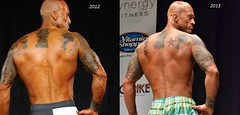 Tattooed Physique Model John Quinlan 2012 & 2013 on Stage Photos (Xmangdog) Tags: model tattoos npc onstage physique johnquinlan