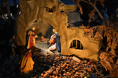 Pessebre de Puigcerd (isalesp) Tags: christmas night religion jesus scene figurines catalunya tradition nativity cerdanya lacerdanya beln pessebre puigcerd