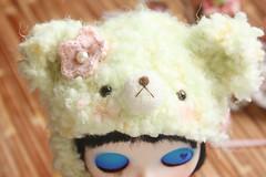 my green teddy helmet