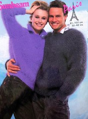 sunbeam_16 (Homair) Tags: man vintage sweater fuzzy fluffy mohair sunbeam