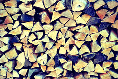 Firewood (astalwawen) Tags: wood trees farm logs firewood woodstove