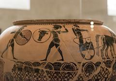 "The Gorgon Painter - III (Egisto Sani) Tags: paris ceramica ceramic greek louvre athens du pottery della vases parigi dinos greca hoplite ""black ""musée ""greek louvre"" figure"" painter"" ""figure nere"" myths"" ""pittore ""vasi greci"" ""miti ""gorgon gorgone"""
