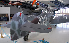 "Messerschmitt Bf-109G-6 (4) • <a style=""font-size:0.8em;"" href=""http://www.flickr.com/photos/81723459@N04/9235505047/"" target=""_blank"">View on Flickr</a>"