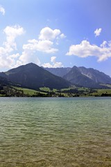 Wachlsee (N6ra) Tags: mountain lake see bergen wachlsee