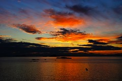 Sunset (NikWatt) Tags: scotland sony events festivals handheld northberwick eastlothian greatcolors greatscots edinburghphotographers nikwatt sonya580 fringebythesea fringebythesea2013 fbts2013finalé