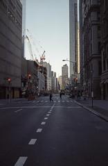 Financial District (Bernhard Benke) Tags: usa newyork spring iso400 manhattan cranes hexaraf