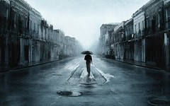Walking-In-The-Middle-of-Rain-Wallpaper (vinod_pednekar) Tags: