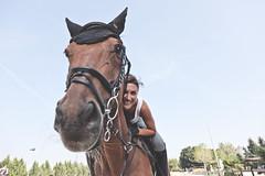Sara & Piter.7 (CoccaOn) Tags: portrait sky horse woman love nature girl smile donna hug ride happiness natura cielo sorriso stable cavallo ritratto amore ragazza abbraccio opendoor aperto felicit horsewoman maneggio cavallerizza cavalcare